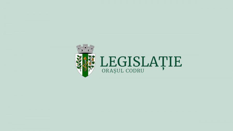 Transparență – Legislație