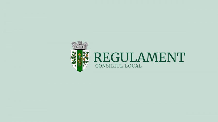Regulamentul Consiliului Local