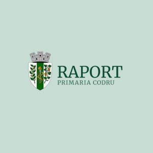 RAPORT! privind transparența în procesul decizional în cadrul Administrației Publice Locale pentru anul 2020